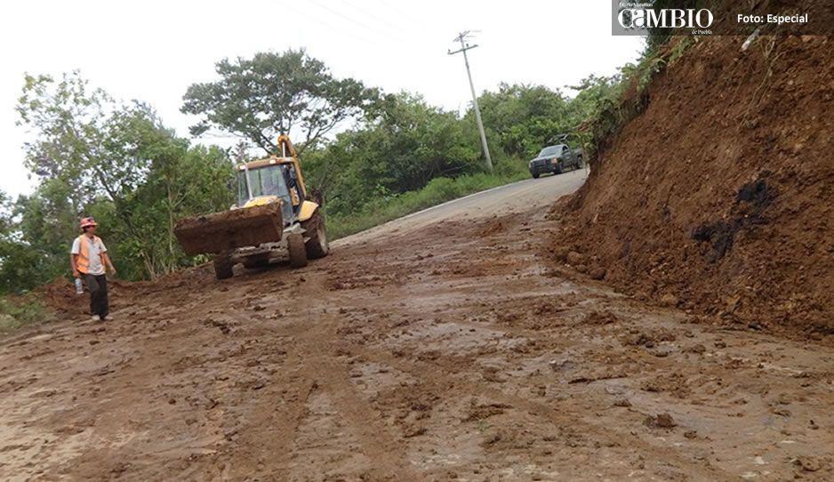 Emite Segob declaratoria de emergencia por lluvias en 15 municipios de Puebla