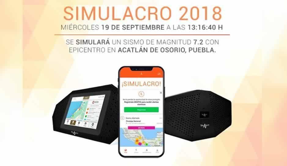 Cuerpos de rescate, vialidad y Cruz Roja están listos para el simulacro sísmico en Acatlán