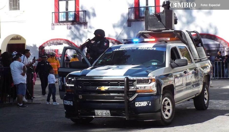Atlixco requiere de 35 millones de pesos para mejorar seguridad pública