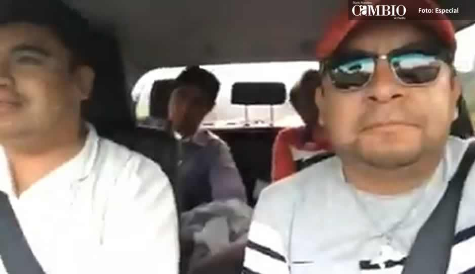 #LordPedote Edil de Cuautlancingo debuta como reportero y abandona presidencia municipal (VIDEO)