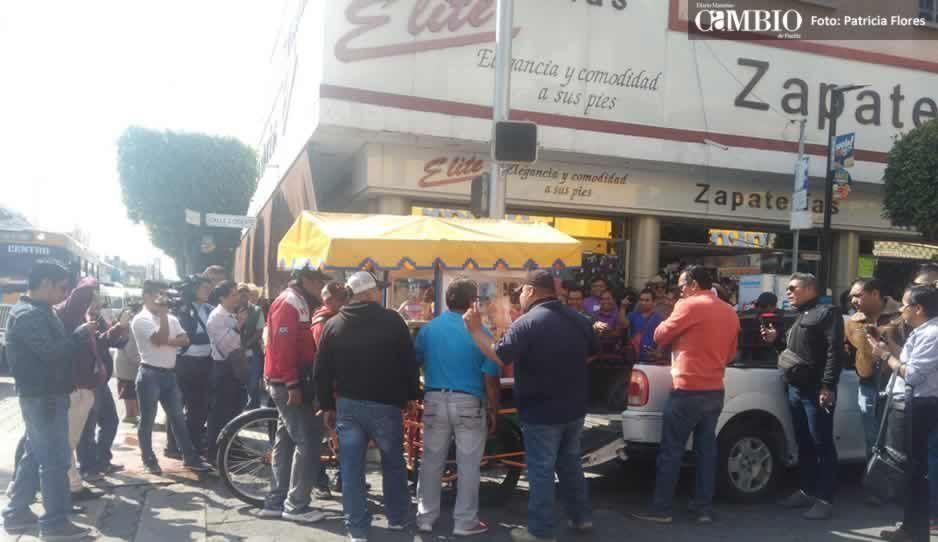 Ayuntamiento de Tehuacán crea documentos para justificar desalojo de comerciantes