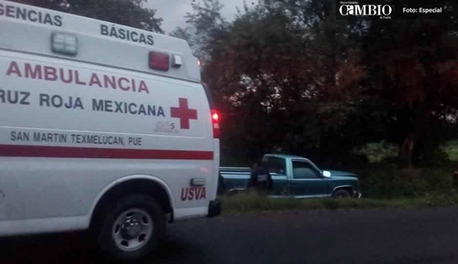 Camioneta se impacta contra árbol en El Verde, hay tres lesionados