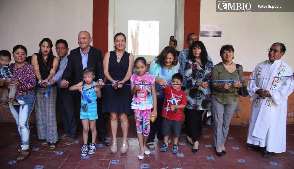 José Luis Galeazzi y DIF municipal inauguran Ludoteca de Atlixco