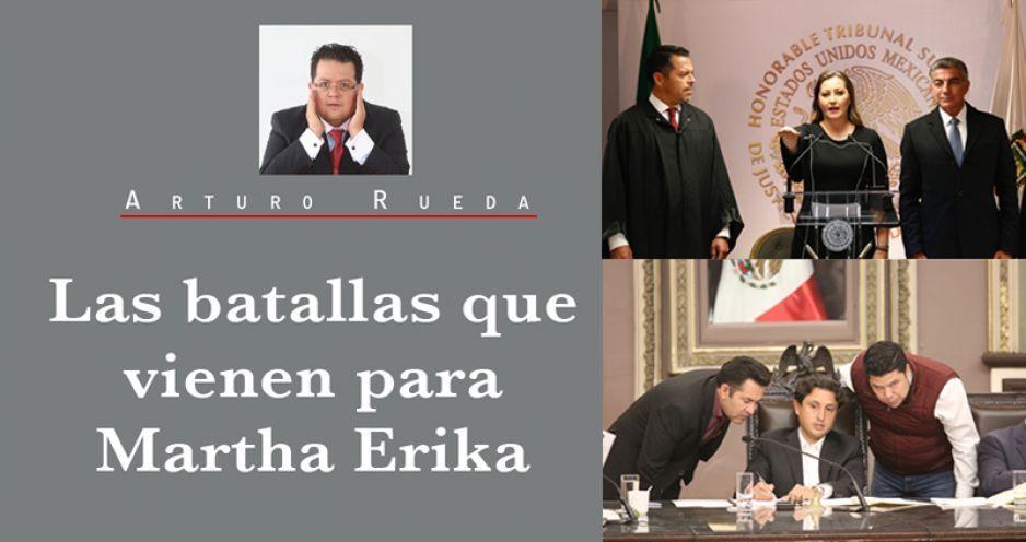 Las batallas que vienen para Martha Erika