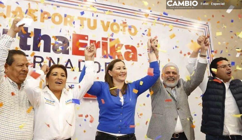 Presidentes municipales de Atlixco se congratulan por el triunfo de MEA