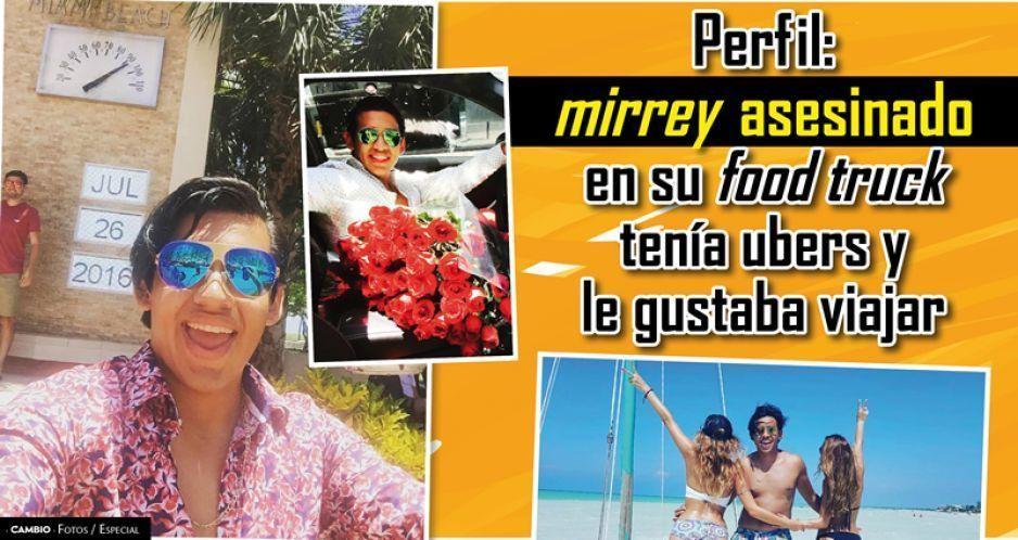 Perfil: mirrey asesinado en su food truck tenía ubers y le gustaba viajar