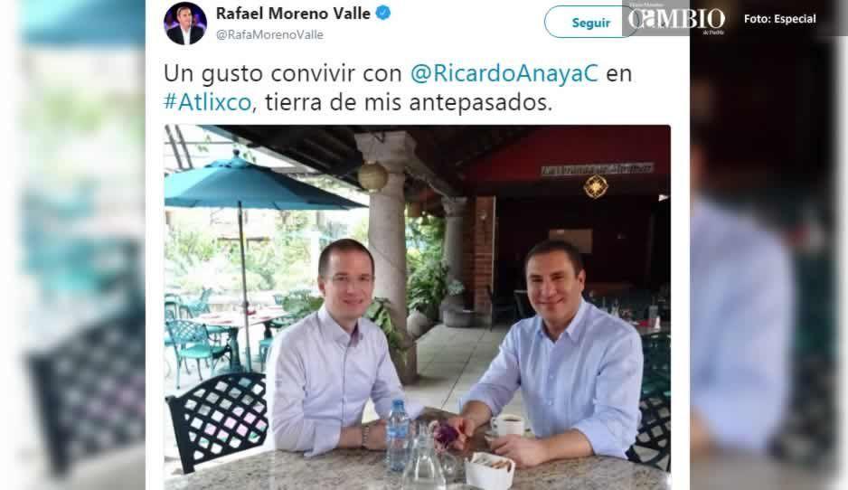 Anaya y Moreno Valle confirman su nueva cercanía y olvido a Meade