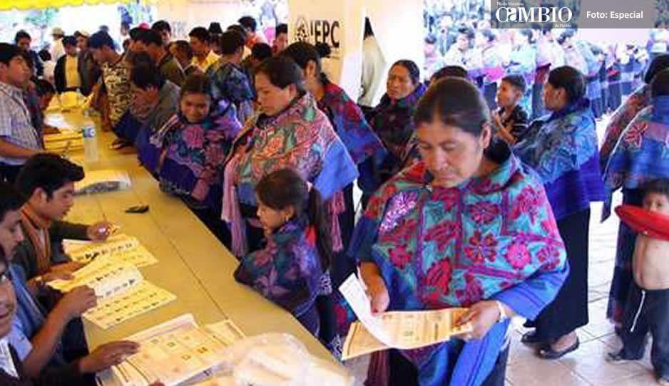 5 mujeres indígenas estarán en el Congreso de la Unión