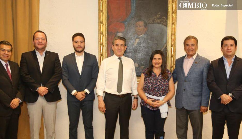 Alcaldesa electa Norma Layón recupera  mando de seguridad para Texmelucan