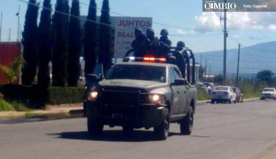 ¡Texmelucan sin control! Se desatan tres enfrentamientos entre huachicoleros y militares
