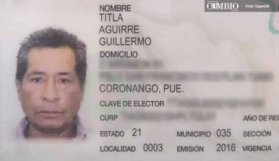 Desaparece hermano del ex candidato a edil de Coronango