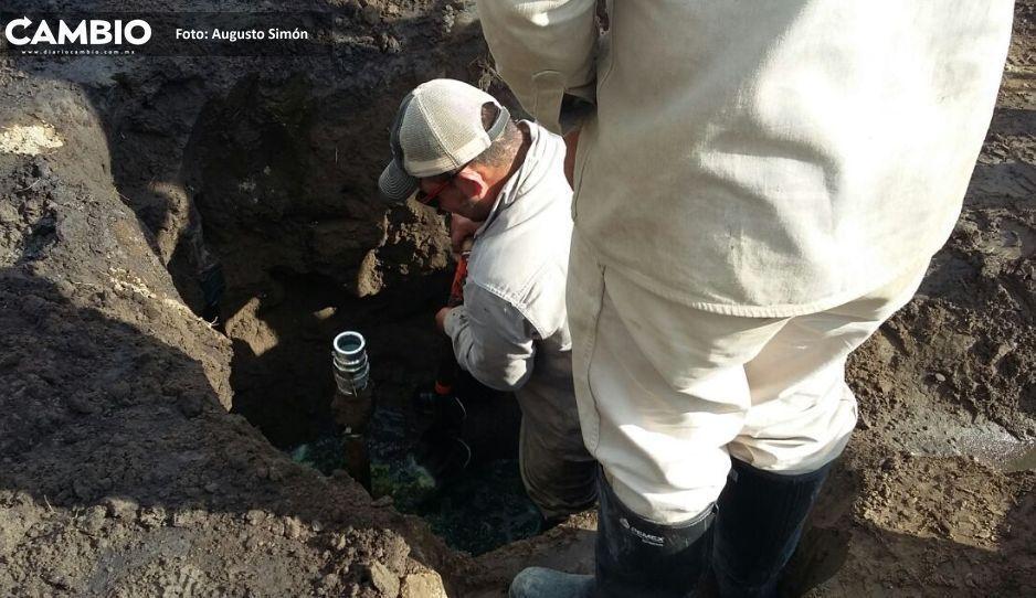 Aumentan 43.7 % tomas  clandestinas en Puebla