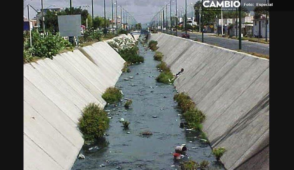 Tehuacán se declara incapaz de limpiar el Dren de Valsequillo, se apoyará con vecinos y asociaciones