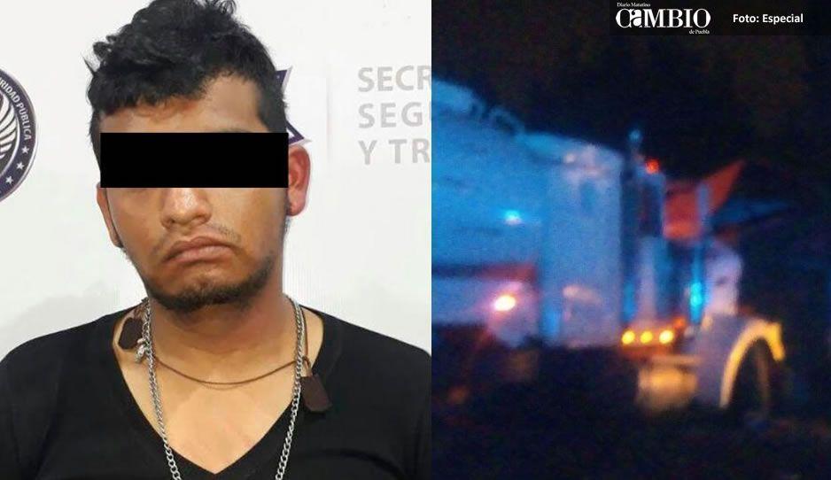 Arrestan a presunto huachicolero; asaltó y golpeó a un conductor en la Colonia Santa Anita