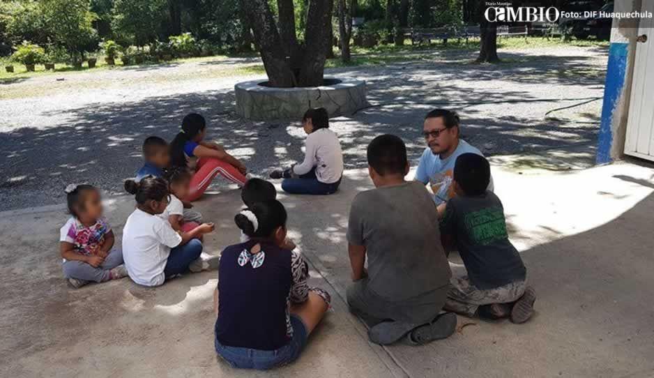 Entregan a joven al DIF de Huaquechula por maltrato