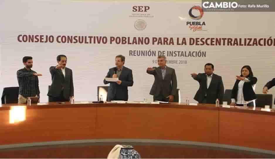 Consejo Consultivo de la SEP será presidido por Esparza Ortiz