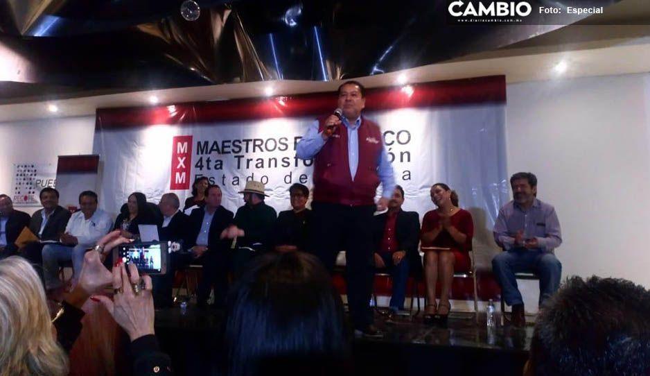 Guillermo Aréchiga advierte revocación de dirigencia de Cepeda