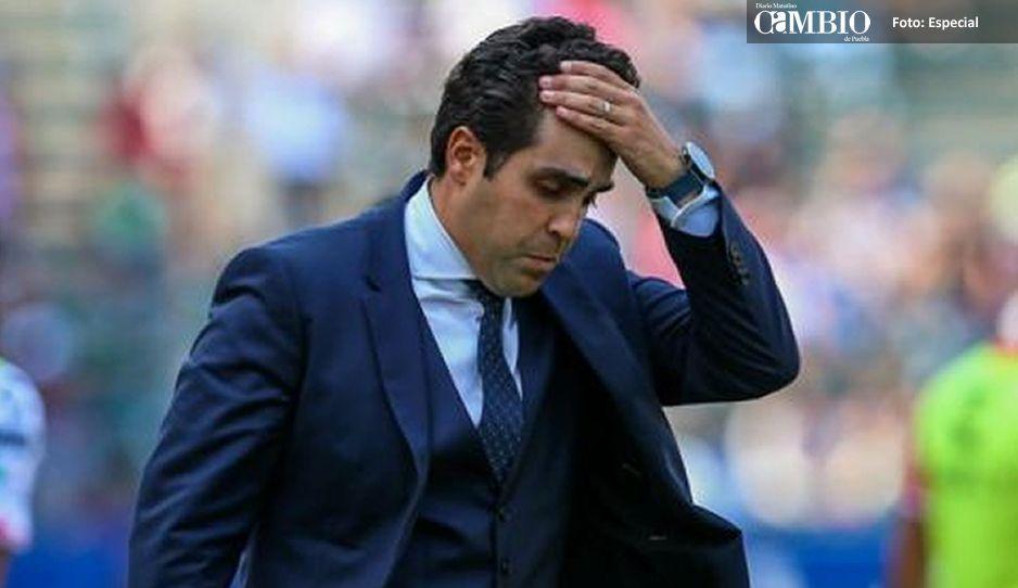 Michel Leaño es cesado por Necaxa, deja al equipo con 12 puntos