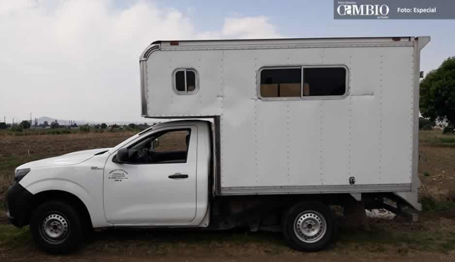 Policías de Texmelucan recuperan unidad robada en Huejotzingo