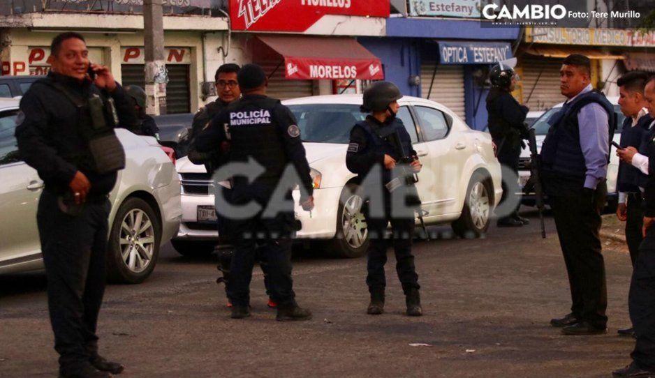 Otro megaoperativo en el Mercado Morelos, van a la caza de narcomenudistas  (FOTOS y VIDEO)