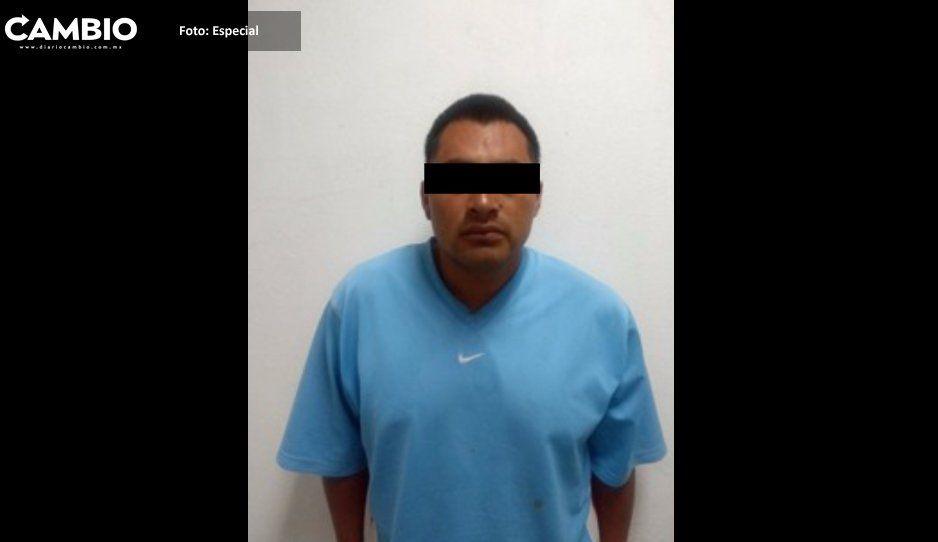 Cae El Ximello,  narcomenudista  en zona de Atlixco