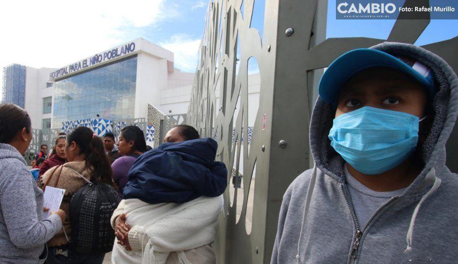 Papás de niños con cáncer vuelven a manifestarse por medicamento chafa