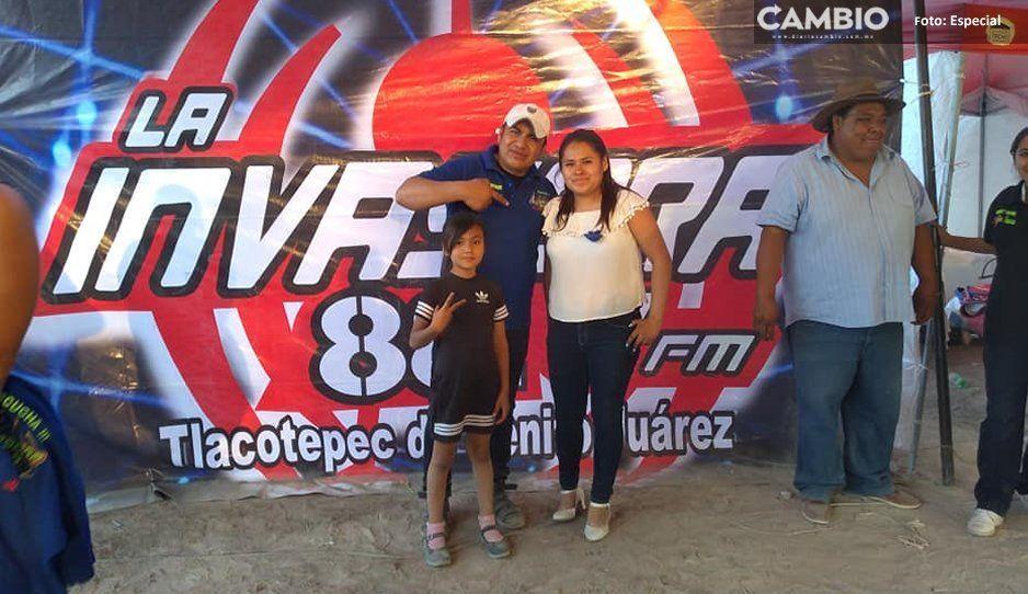 Ayuntamiento de Tlacotepec usa  emisoras pirata