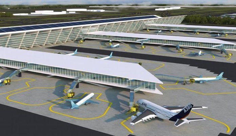 Revocan suspensión contra aeropuerto de Santa Lucía