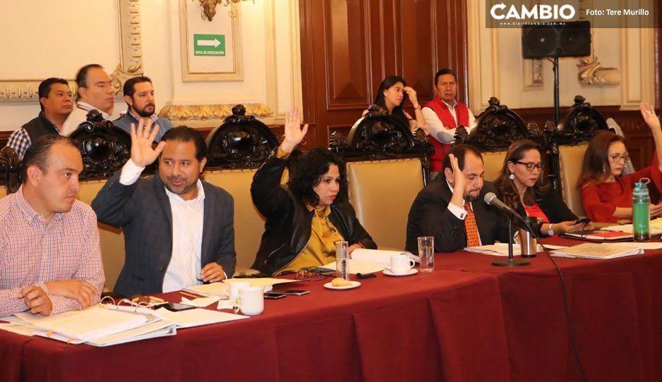 Cabildo aprueba que la Sindicatura denuncie a grupos de choque o ambulantes que agredan a funcionarios