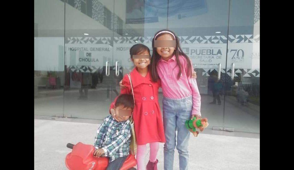 Niñita con apendicitis a punto de morir por negligencia médica en el Hospital General de Cholula