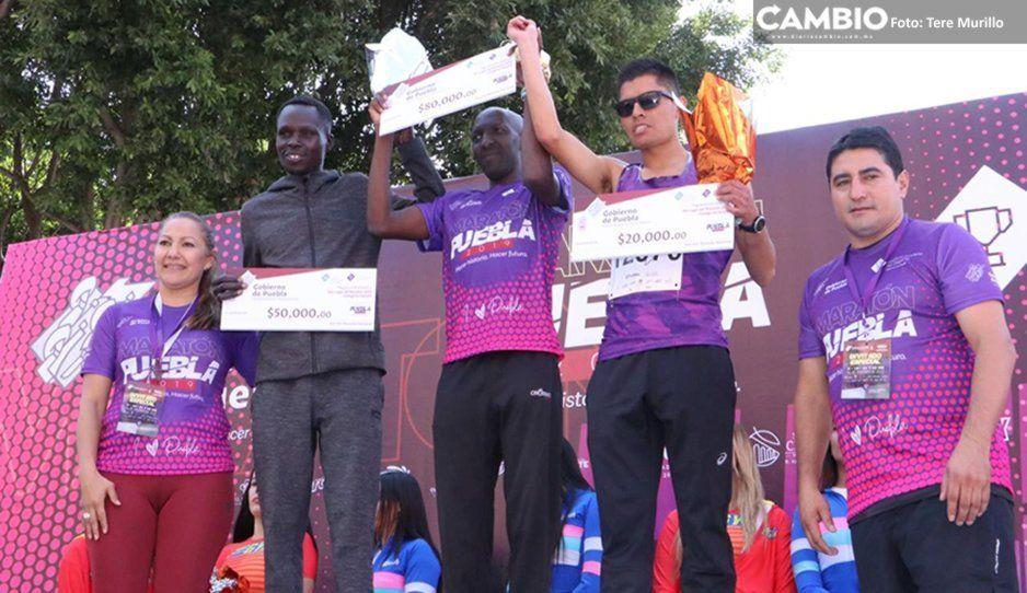 Estos son los ganadores del Maratón de 42 kilómetros ¡Conocelos!