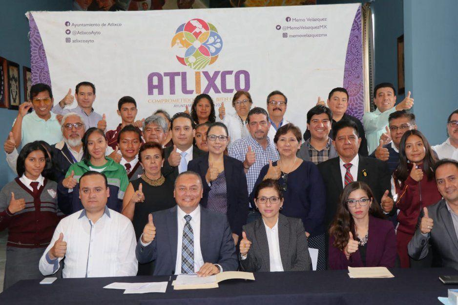 Atlixco instala Consejo Municipal de Población y el Comité de Prevención del Embarazo en Adolescentes