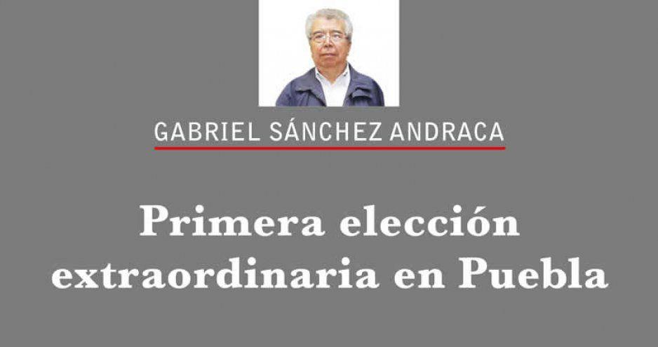 Primera elección extraordinaria en Puebla
