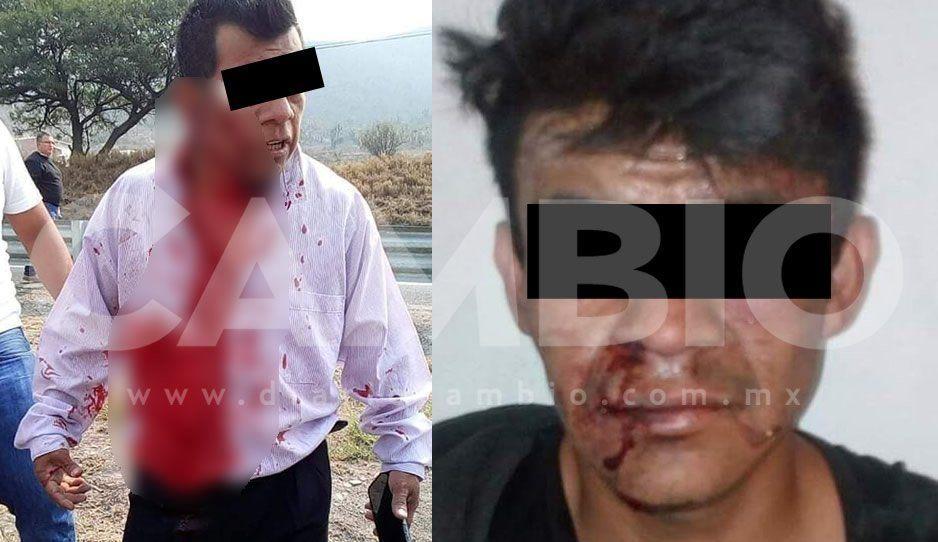 Taxista de Miahuatlán se resiste a asalto y logra detener a ladrón con ayuda de colegas