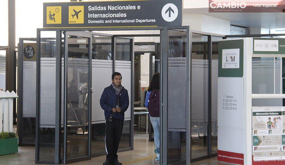 Llega chino al Aeropuerto de Huejotzingo; se desata el miedo y las alertas por coronavirus