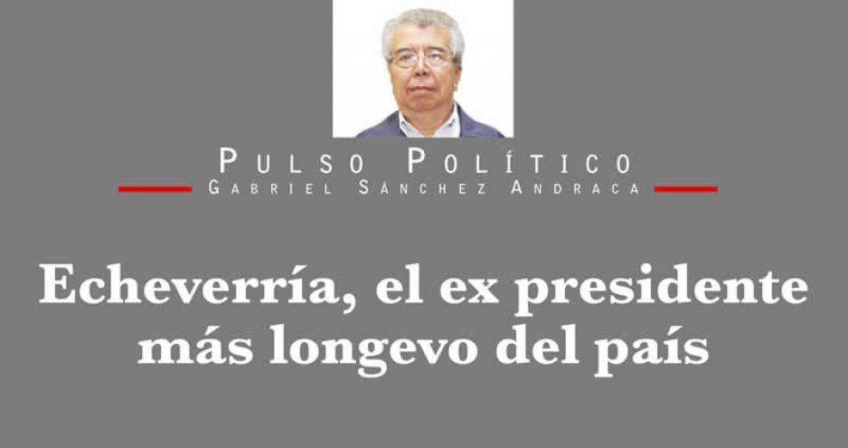 Echeverría, el ex presidente más longevo del país