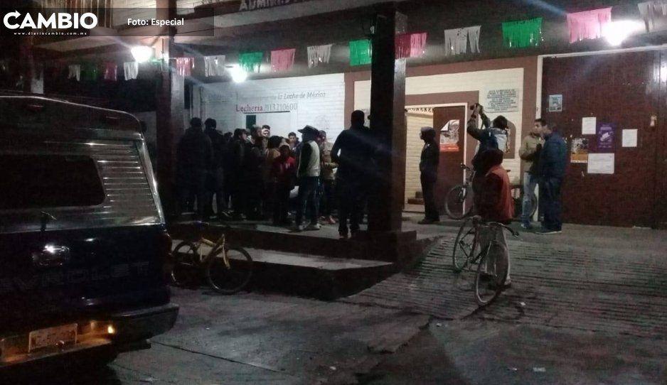 Protección Civil evacua área de fuga de gas en San Martín Texmelucan