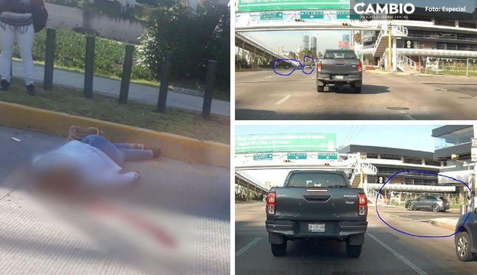 Cafre de LandRover atropella a mujer en la Atlixcáyotl y la dan por muerta, pero revive 20 minutos después