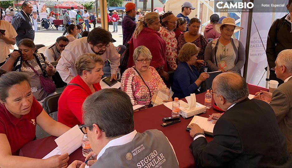 En octava jornada de Atención Ciudadana, Secretaria de Salud acudió a San Miguel Canoa para brindar atención médica