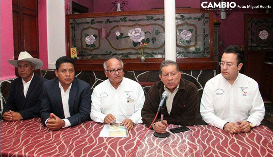 Asociaciones de ejidatarios y comerciantes respaldan a Barbosa como candidato de Morena
