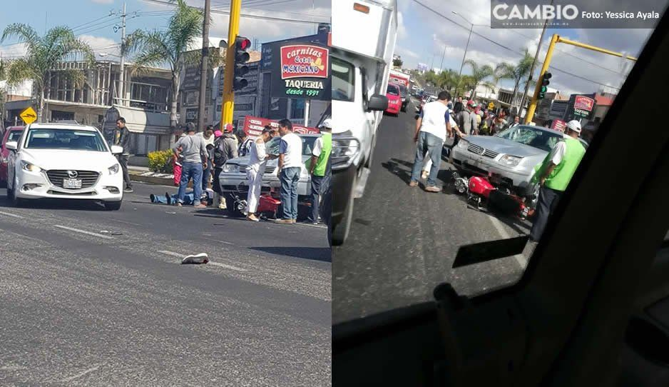 Sin ambulancias se encuentra Atlixco: joven atropellado tuvo que esperar 1 hora para que llegara una unidad