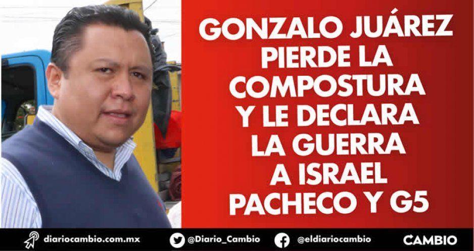 Gonzalo Juárez pierde la compostura y le declara la guerra a Israel Pacheco y G5