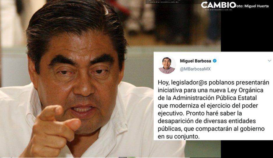 Hoy, Barbosa presentará reingeniería gubernamental al Congreso