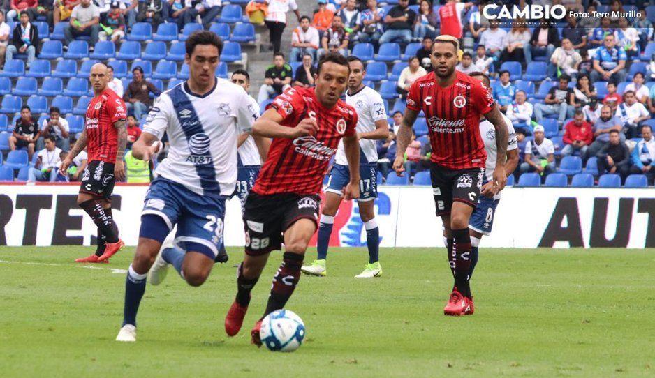 Con el Estadio Cuauhtémoc vacío, Puebla arranca perdiendo el torneo 3-1 vs Xolos (VIDEO)