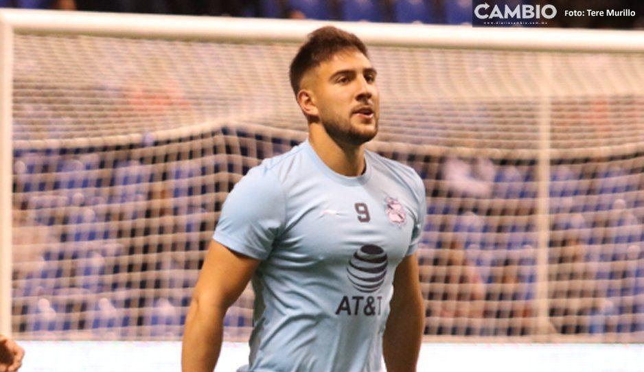Con o sin Cavallini, el Club Puebla  tiene que dar la cara: Brayan Angulo