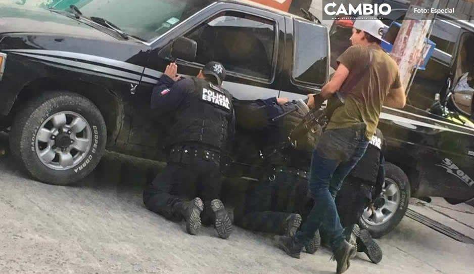 Huachicoleros rebasan en armamento a Policía Estatal, confiesan elementos