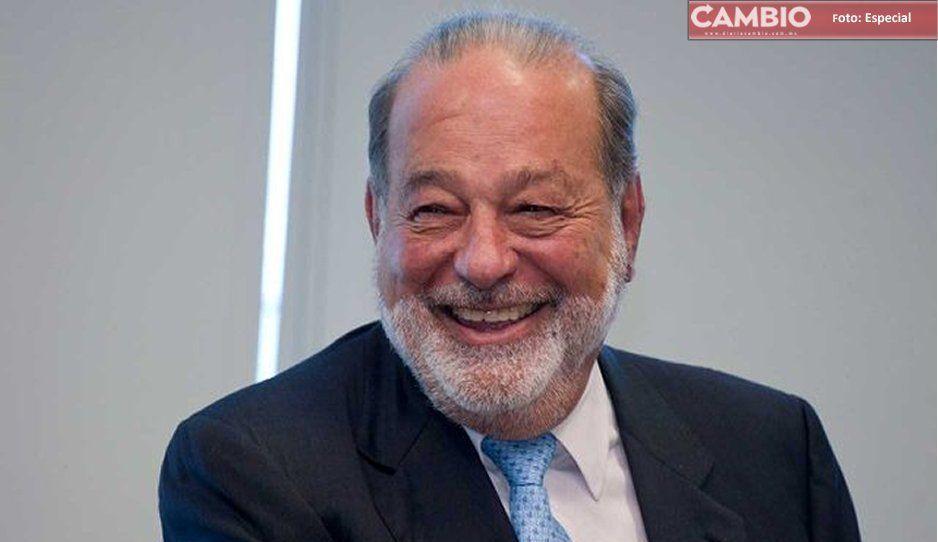 En 2019 no se creció; no hubo deuda, no hay déficit, se sentaron bases, declara Carlos Slim