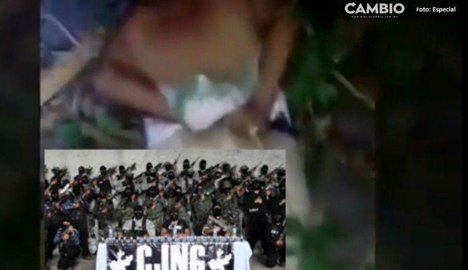 Así es como el Cártel de Jalisco Nueva Generación castiga a sus enemigos