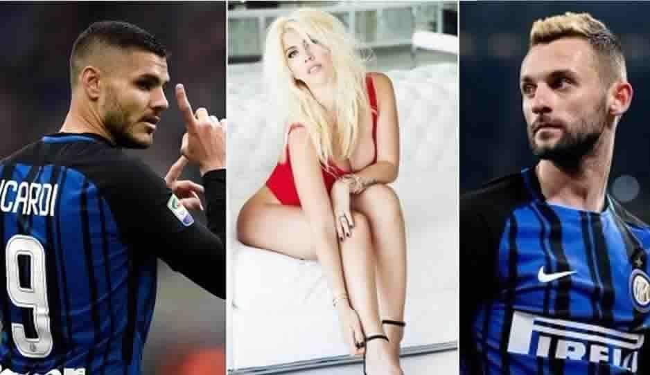 Wanda Nara habría engañado a Mauro Icardi con otro jugador del Inter