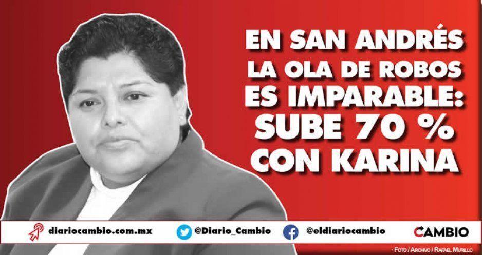 Ola de robos en San Andrés con Karina: aumentan 70 por ciento